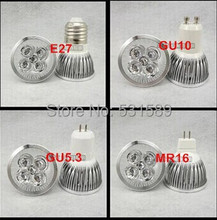 DHL/Fedex Free Shipping 100pcs DIY GU10 GU5.3 E27 B22 MR16 4x1W LED Bubble Ball Lamp Shell Kit Led Lighting Accessories