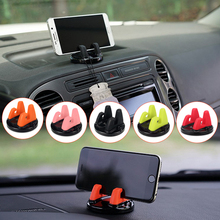 Car Phone Holder Soft Silicone Anti Slip Mat Mobile Phone Mount Stands Bracket Support GPS for iPhone 7 plus Xiaomi