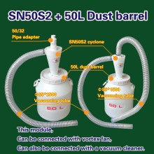 Cyclone SN50S2 + 50L Dust barrel (1 piece)(China)