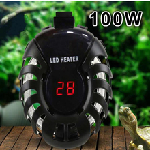 Buy Super 100W LED Digital Fish Tank Water Heater Automatic Thermostat Aquarium Temperature Controller Fish Turtle Tank 35-75L for $17.11 in AliExpress store