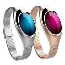 Z18 Smart Wristband Blood Pressure Heart Rate Monitor Smart Band Luxurious Watch Women Gift smart bracelet for IOS Android phone
