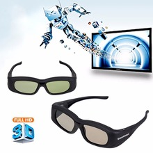 Excelvan G05-A Super Universal 3D Active Shutter Glasses IR&Bluetooth For Panasonic/Sony/Sharp/Samsung/LG/Toshiba 3D TV Black(China)