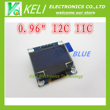 "1Pcs 128X64 OLED LCD LED Display Module blue  For Arduino 0.96"" I2C IIC SPI Serial new original"