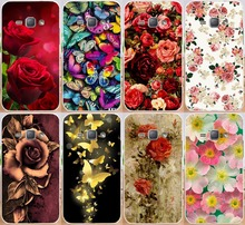 Rose Butterfly Ship Spear PC Print Case For Samsung Galaxy J1 2016 J120F (isn't for J1 J100 2015) Phone Case Cover Shell