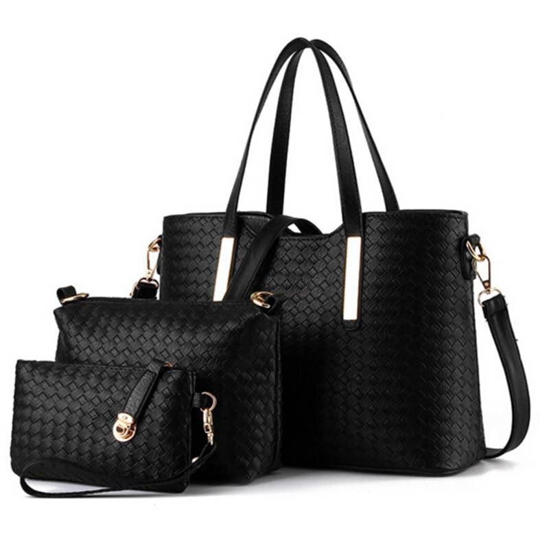 famous designer luxury brands women bag set good quality medium women handbag set 2017 3pcs/set new women shoulder bag QT-117<br><br>Aliexpress