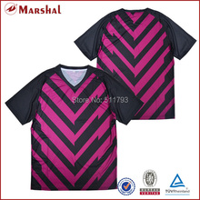 Free shipping thailand quality grade original sublimation cheap soccer uniform(China)
