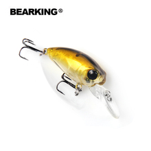 Retail 2016 good fishing lures minnow,quality professional baits 3.2cm/2.7g,bearking hot model crankbaits penceil bait popper