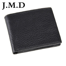 J.M.D Hot sell vintage wallet purse 2 color made by 100% geninue cow leather Wallet 100% manufacturer 8063