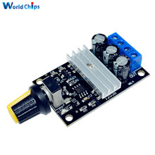 Smart Electronics PWM DC 6V 12V 24V 28V 3A Motor Speed Control Switch Controller Duty Cycle 0%-100% Output Power Max 80W(China)