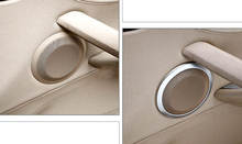 2009-2015 Car Front Door Speaker Audio Ring Cover Trim For BMW X1 E84