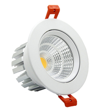 High Quality Epistar LED COB Recessed Downlight Dimmable 6w 9w 12w 20w LED Spot lamp Dimming Ceiling Lamp light 110v 220v