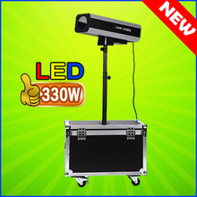 2017 New 330W LED Track Light Led Follow Spot Beam Light Stage Lighting Effect For DJ Wedding And Event ( With Flightcase )(China)