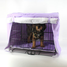 New Warm Pet Dog Kennel Cage Cover Crate Cover Waterproof S M L XL XXL(China)