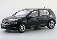 1:18 Diecast Model for Volkswagen VW Golf 7 Black Alloy Toy Car Collection Gifts(China)