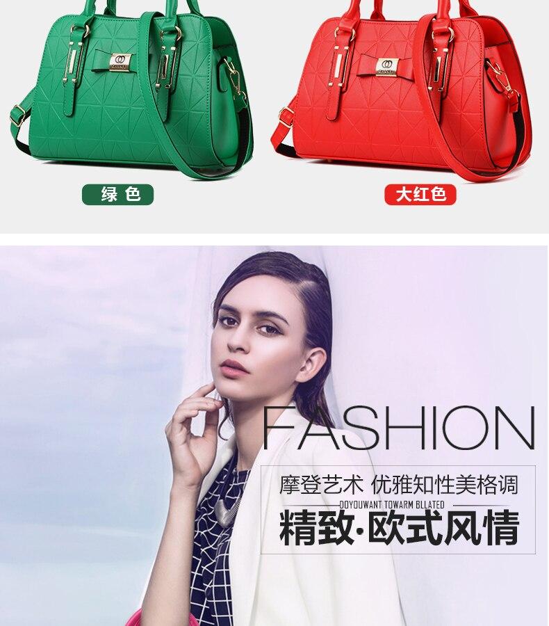 free shipping new style fashion ladies handbag women's shoulder bag leather large capacity bolsos wholesale price famous design