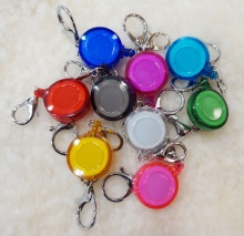 Free Shipping 1pcs Retractable Anti-Lost Clip Buckle Security Card Badge Holder Reels