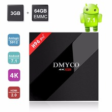Buy H96 Pro TV Box Android 7.1 4GB 32GB eMMC Amlogic S912 Octa core 4K 5.0GHz Dual WIFI USB 3.0 HD H96 Pro Plus Smart TV Set Top Box for $52.89 in AliExpress store