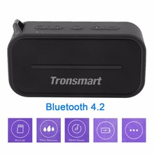Tronsmart T2 Portable Mini Speaker Water Resistant Bluetooth 4.2 Stereo Sound Loudspeaker Home Theater Party Speaker(China)
