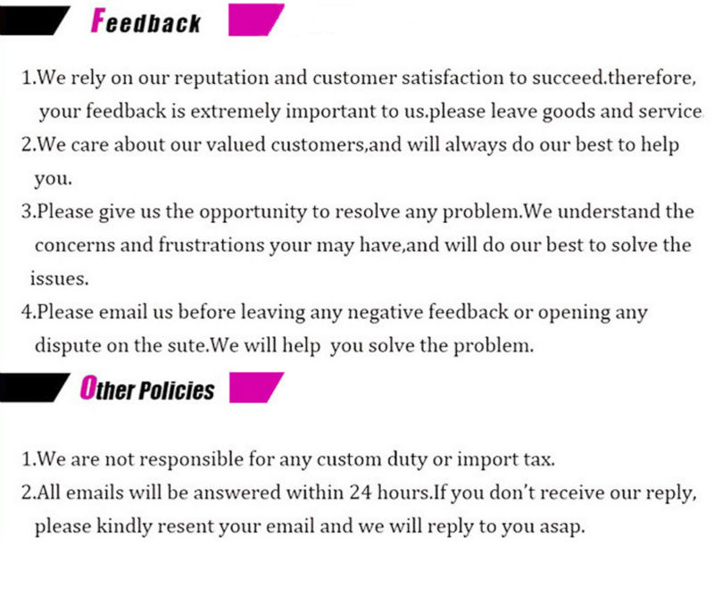 4 about feedback and other