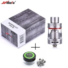 Original Wotofo Serpent Mini Atomizer 3ml Dual Adjustable Airflow Top Fill System Adjustable post RTA tank with heating wire