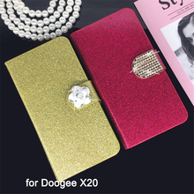 Buy Flip Phone Case Cover Doogee X20 Original Rhinestone Cases Bling Fundas Diamond Coque Glitter Capa for $3.12 in AliExpress store
