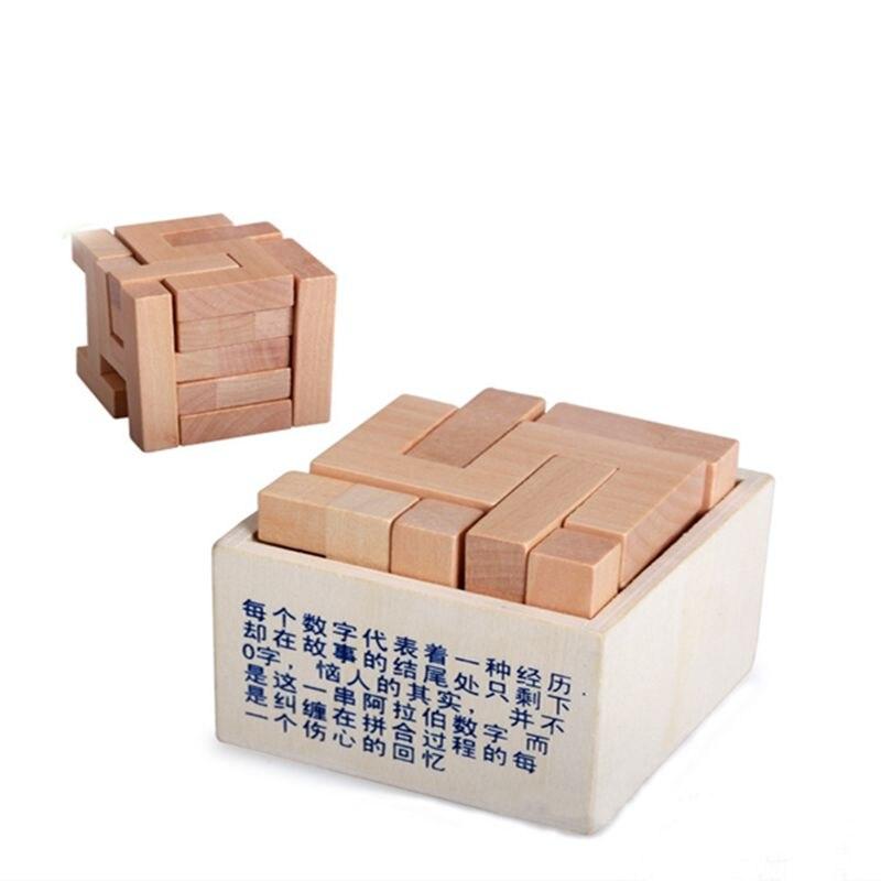 Infant teaching aids building blocks assembled creative digital box unlocked wooden educational toys<br><br>Aliexpress