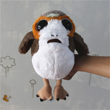 1 piece star wars 8 new Porg bird Plush Toys Doll For kids Gifts&birthday star wars fans collection toys(China)