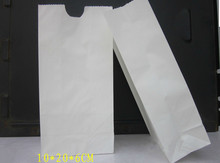 Free Shipping White Greaseproof Paper Bag Food Bread Packaging Bags