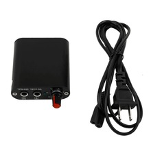 New Mini Professional Tattoo Motor Power Supply for Rotary Tattoo Machine Gun Tool With US plug cable black(China)