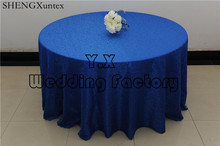 Wholesale Price Round Table Cloth \ Damask Tablecloth For Wedding Decoration