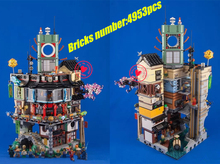 495Ninja Great Creator City Construction 06066 lepin Model Building Blocks kid Toys Bricks Compatible 70620 - Educare Wonderland Store store