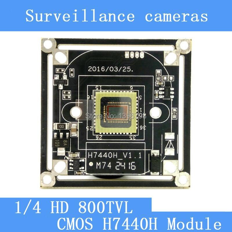 HD Color CMOS 800TVL camera module surveillance cameras H7440H PCB Board PAL / NTSC Optional<br><br>Aliexpress