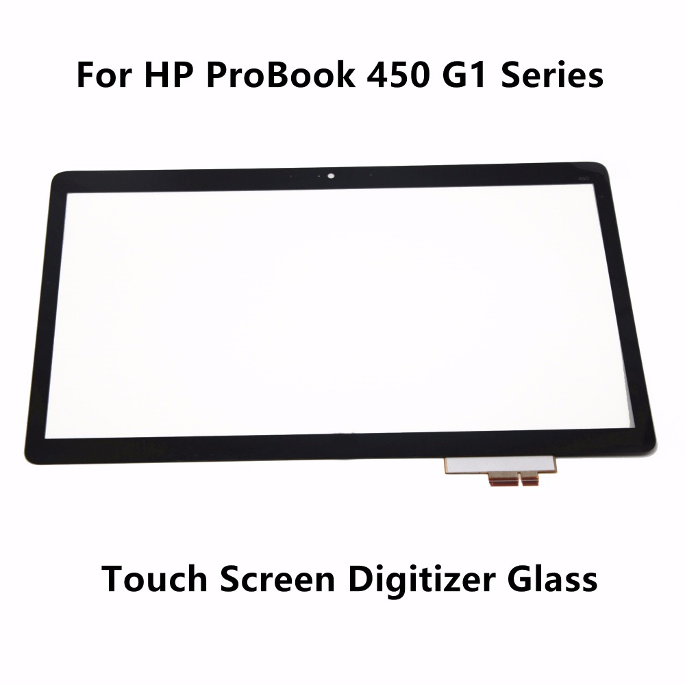 New Genuine 15.6 Touch Panel Screen Digitizer Glass Sensor Lens Replacement For HP ProBook 450 G1 Series PN : 69.15i05.T02<br>