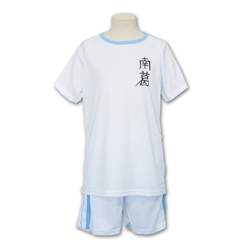Japan Anime Captain Tsubasa No.10 Ozora Tsubasa Football Jersey Nankatsu School Adult Cosplay Costume Top+Short New