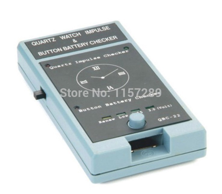 Quartz Movement and Watch battery Tester for Watch Repair<br>