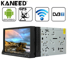 Universal 2 DIN Car DVD Player Android 4.2 DVB-T GPS+Wifi+Bluetooth+Radio CorteX A9 Dual Core 7'' LCD 1024*600 car stereo radio