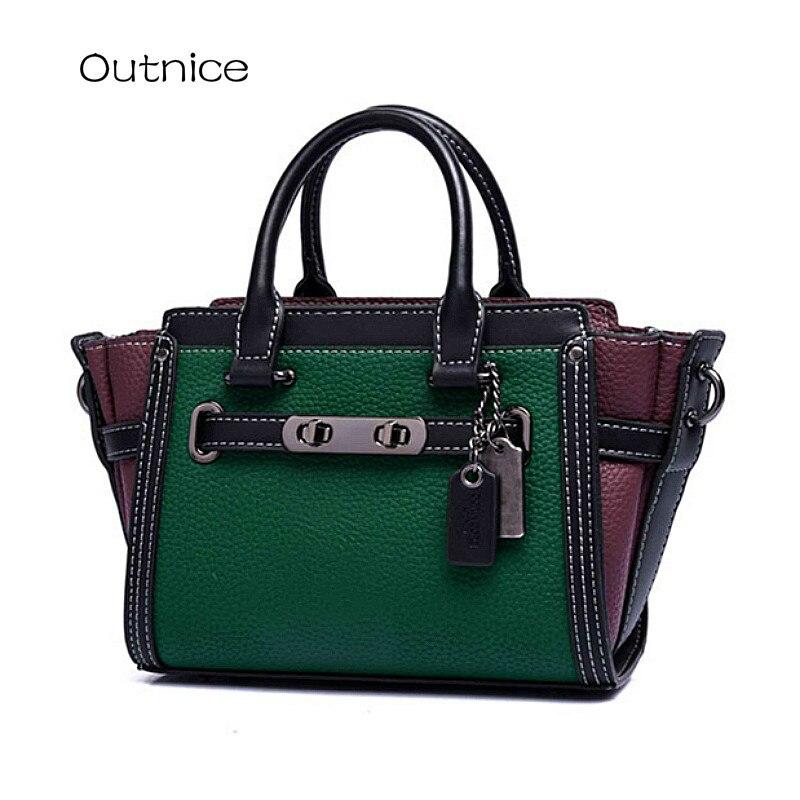2017 New Retro Trapeze Bag Luxury Brand Women Messenger Bag Hobo Designer Handbags High Quality Smiley Celebrity Crossbody Bags<br>