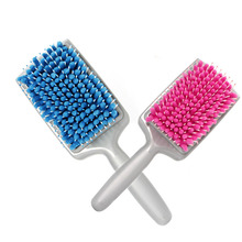 Hot! Water Fast Drying Hair Towel Comb Air Cushion Massage Anti-static Brush Blue/Pink