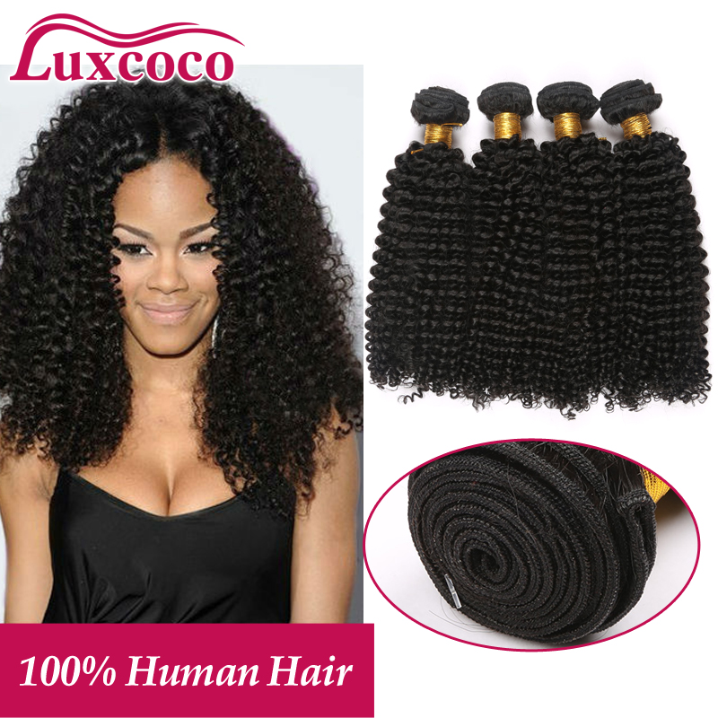7A Indian Kinky Curly Virgin Hair 4 Bundles Kinky Curly Hair No Shedding No Tangle With Bouncy &amp; Shining Curls<br><br>Aliexpress