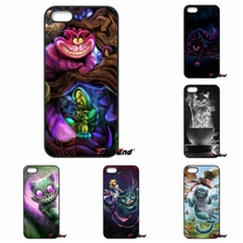 For HTC One M7 M8 M9 A9 Desire 626 816 820 830 Google Pixel XL One plus X 2 3 Alice in Wonderland Cheshire Cat Art Poster Case(China)