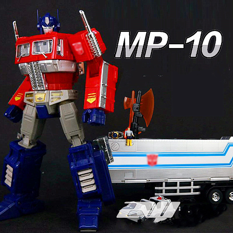 New Deformation toys MP10-V U optimus prime alloy version with accessories pack