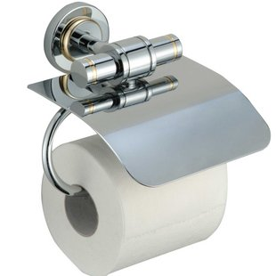 Free shipping!luxury toilet paper holder.100% brass bathroom toilet holder.1pcs/lot.2012new arrive !<br>