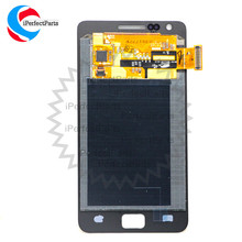 High Quality Replacement 4.3''AMOLED LCD for Samsung Galaxy S2 LCD Display i9100 GT-i9100 Touch Screen Digitizer Full Assembly(China)
