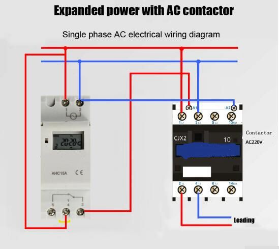 THC15A TP8A16 AHC15A DIN RAIL DIGITAL PROGRAMMABLE Digital LCD Weekly  Programmable Timer Relay Switch 220V|relay switch|timer relay switchtimer  relay - AliExpressAliExpress