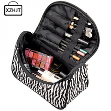 Casual Professional Multifunction Make Up Makeup Organizer Bag Women Cosmetic Bags Ourdoor Travel Bag Handbag Wash Kit(China)
