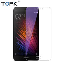 [2 PCS] For Xiaomi Mi5S Screen Protector,TOPK HD Transparent Anti Blue Light 9H Hardness Tempered Glass for Xiaomi Mi5 Mi5s