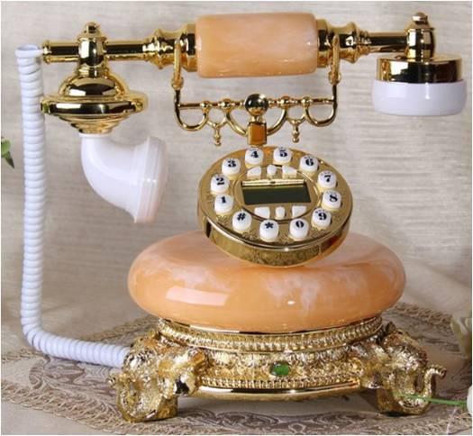 Neue europ/äische Antik Vintage Telefon American High-End klassischen Feste Festnetz wei/ß rot schwarz schwarz