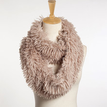 Womens Blend Circle Collar Scarf Shawl Collar Wrap Stole Scarve winter sjaals voor vrouwen faux fur scarf viscose pashmina pure