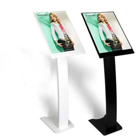 Black poster frame holder with stand - cafenews.info
