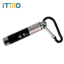 High Quality 3 in 1 Infrared Mini LED FlashLight Fashion Keychain Laser Pen Pointer Beam UV Torch Portable(China)